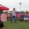 Geneva Mayor Kevin R. Burns talks to the crowd at the 2013 relay for life at Fifth Third Bank Ballpark in Geneva, IL on Friday, June 21, 2013 (Sean King for Shaw Media)