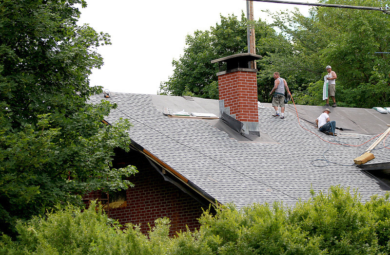 St. Charles resident Clifford Mcllvaine said on Friday that the city is destroying his house at 605 Prairie St. after a judge recently allowed the city of St. Charles to proceed with repairing Mcllvaine's property, including correcting an unfinished roof.