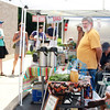 Opening day of the Geneva Green Market.