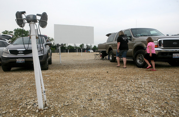 At the Cascade Drive-In