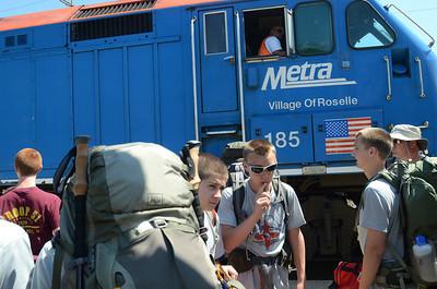Boy Scouts depart for NM trip