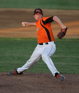 Sarah Nader - snader@shawmedia.com St. Charles East's Matt Starai pitches during Monday's IHSA 4A Supersectional against Jacobs at Rockford Aviators Stadium in Loves Park on June 3, 2013. St. Charles East won, 7-2.