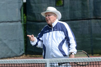 Tennis Instructor Chuck Enge