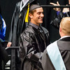 Kaneland High School graduate Jessie H. Balluff smiles while receiving his diploma during the school's commencement ceremony at NIU Convocation Center in DeKalb, IL on Sunday, June 01, 2014 (Sean King for Shaw Media)