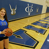 Jeff Krage – For Shaw Media<br /> Geneva volleyball and basketball player Grace Loberg.<br /> Geneva 6/13/14