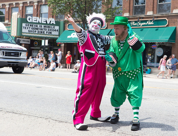 The Medinah Shriners perform for the crowd during The Swedish Days Parade in Geneva, IL on Sunday, June 22, 2014 (Sean King for Shaw Media)