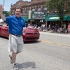 Geneva Mayor Kevin Burns waves to the crowd during The<br /> Swedish Days Parade in Geneva, IL on Sunday, June 22, 2014 (Sean King for Shaw Media)