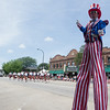 Jolly Giant Stilt Walkers entertain the crowds during The<br /> Swedish Days Parade in Geneva, IL on Sunday, June 22, 2014 (Sean King for Shaw Media)