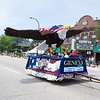 The Geneva Chamber of Commerce Eagle float during The Swedish Days Parade in Geneva, IL on Sunday, June 22, 2014 (Sean King for Shaw Media)