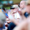 Bob Yahr of Elmhurst watches a Kane County Cougars game against the Wisconsin Timber Rattlers Tuesday night at Fifth Third Bank Ballpark in Geneva. Yahr has been a season ticket holder since 2002.
