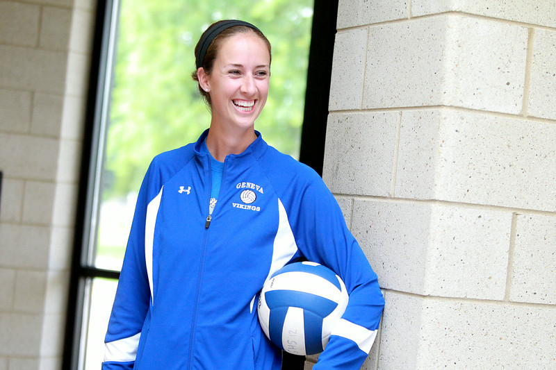 Annie Seitelman, a former girls sophomore and assistant varsity coach, has been named head coach of the girls varsity volleyball team at Geneva, taking over for veteran coach K.C. Johnsen.