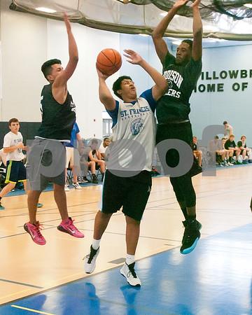 Wheaton St. Francis boys summer basketball