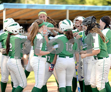York softball took on Trinity in the Class 4A softball regional semifinal