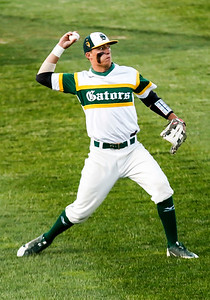 Sarah Nader - snader@shawmedia.com Crystal Lake South's Michael Swiatly throws home during the first inning of Monday's Class 4A Super Sectional sectional championship game against Mundelein June 5, 2017 at Boomers Stadium in Schaumburg . South won, 6-2.