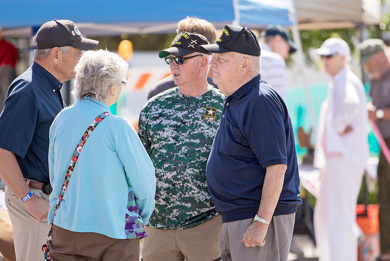 Hundreds gather at the second annual Vets Fest Saturday June 24, 2017, in Huntley. KKoontz – For Shaw Media