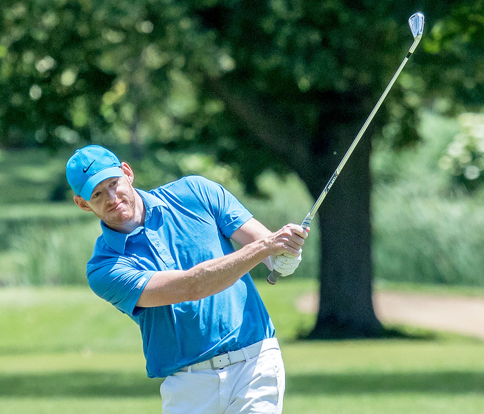 Crystal Lake Central grad Greg Bauman wins the McHenry County Amateur Golf Tournament Saturday June 24, 2017, at McHenry Country Club in McHenry. Tied with Steve Sawtell, Bauman won in a playoff with eagle from about 40 yards. KKoontz- for Shaw Media