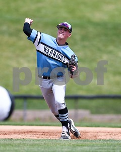 Willowbrook's MJ Ranieri throws out a runner at first during the Class 4A baseball sectional final against South Elgin June 3 at Boomers Stadium in Schaumburg. David Toney for Shaw Media