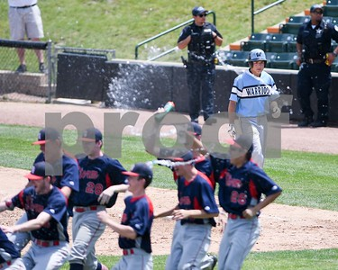 Willowbrook Jon Kelso walks back to the dugout after the final out during the Class 4A baseball sectional final against South Elgin June 3 at Boomers Stadium in Schaumburg. David Toney for Shaw Media