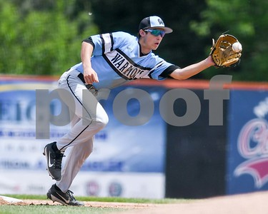 Willowbrook's Alec Michaelson catches the throw from home pate and tags a South Elgin runner who tried to steal second during the Class 4A baseball sectional final June 3 at Boomers Stadium in Schaumburg. David Toney for Shaw Media
