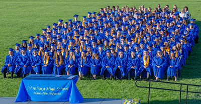 The Johnsburg High School graduating class of 2018 Friday, June 1, 2018 in Johnsburg. KKoontz – For Shaw Media