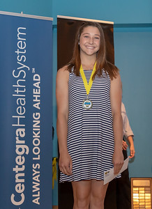 "Jenna Pauly from McHenry High School was honored with ""Girls Track Athlete of the Year"" during the 2018 Northwest Herald MVA Awards Thursday, June 7, 2018 at McHenry County College in Crystal Lake. KKoontz – For Shaw Media"