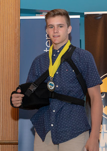 The award for Wrestler of the Year went to Marian Central's Dylan Connell at the 2018 Northwest Herald's Most Valuable Athlete Awards Thursday, June 7, 2018 at McHenry County College in Crystal Lake. KKoontz – For Shaw Media