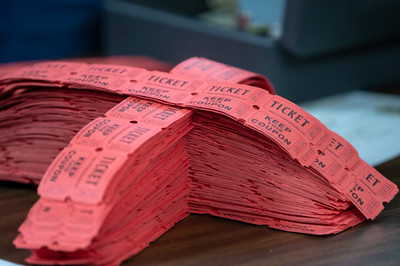 An estimated 250,000 tickets were entered in the An estimated 250,000 tickets were entered in the $1.6 million Queen of Hearts drawing Tuesday, June 26, 2018 at the VFW in McHenry. There wasn't a jackpot winner this week and the jackpot will increase next week as the nine of hearts was selected. KKoontz – For Shaw Media