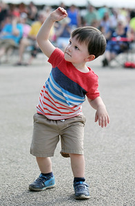 Candace H. Johnson-For Shaw Media Cameron Valentino, 2, of Wauconda dances to Motown music performed by the Second Hand Soul Band during Wauconda Fest at Cook Park in Wauconda.