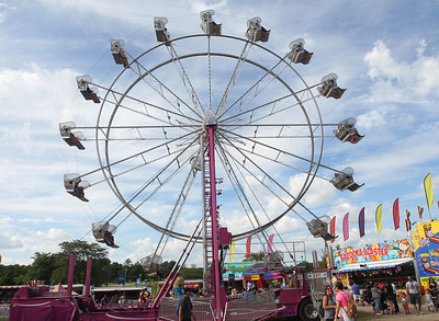 Candace H. Johnson-For Shaw Media A Ferris Wheel and many rides were featured during Wauconda Fest at Cook Park in Wauconda.(6/23/18)