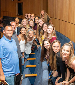 The Huntley High School Softball team made the trip to the 2019 McHenry County Most Valuable Athletes Awards ceremony Wednesday, June 5, 2019 at McHenry County College in Crystal Lake. KKoontz- for Shaw Media