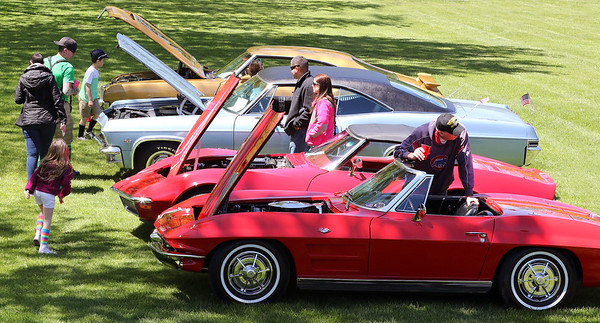 A car show was part of the Loyalty Day Picnic at the Batavia VFW May 7.