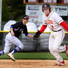 Batavia's John Lemon heads for the third base during a game against visiting Geneva May 4.
