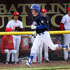 Geneva's Jeremy Davis scores in the top of the 4th inning at Batavia May 4.