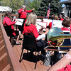 The Batavia Community Band performs during the Loyalty Day Picnic at the Batavia VFW May 7.