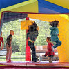 Children jump inside a bouncy house during the Loyalty Day Picnic at the Batavia VFW May 7.