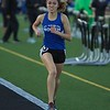 St. Charles North's Natalie Galvan competes in the 800 meter run on May 11 th at Bartlett's class 3A Girl's sectional in Streamwood.