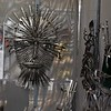 Metal sculptures by Donald Esser on May 27 at the St. Charles Fine Arts Festival in St. Charles.