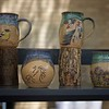 Pottery by Rebbeca Skow on May 27 at the St. Charles Fine Arts Festival in St. Charles.