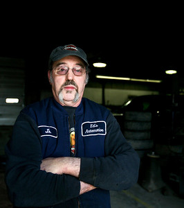 Jenny Kane - jkane@shawmedia.com Ed's Automotive owner Jim McGrath, known as Junior, has worked at the shop for 25 years and has been an auto repairman for over 40 years. Ed's Automotive has been in business in Woodstock for 48 years.