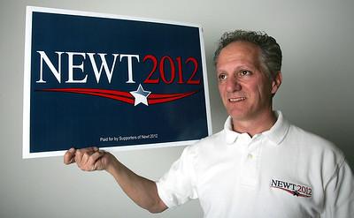 H. Rick Bamman -hbamman@shawmedia.com Gingrich delegate Nick Provenzano