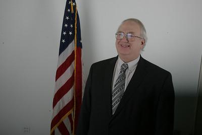 H. Rick Bamman -hbamman@nwherald.com Mitt Romney delegate candidate Bill LeFew.