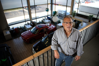 Daniel J. Murphy - dmurphy@shawmedia.com  Crystal Lake Chrysler owner Gary Rosenberg in his showroom Friday March 16, 2012 in Crystal Lake.