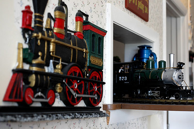 Jenny Kane - jkane@shawmedia.com A train delivers drinks and food to families at Windhill Pancake Parlor in McHenry. The restaurant has been open in McHenry since 1976.