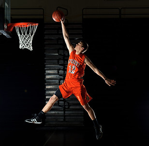 Daniel J. Murphy - dmurphy@shawmedia.com  McHenry's Robert Tonyan #12 is the Northwest Herald's Basketball Player of the Year.