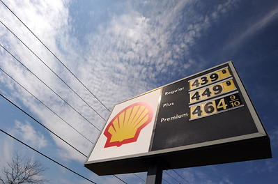 Sarah Nader - snader@shawmedia.com Record-high fuel prices have soared above $4 a gallon around the county, a Woodstock Shell gas station was selling regular gas for $4.39 on Thursday, March 22, 2012.