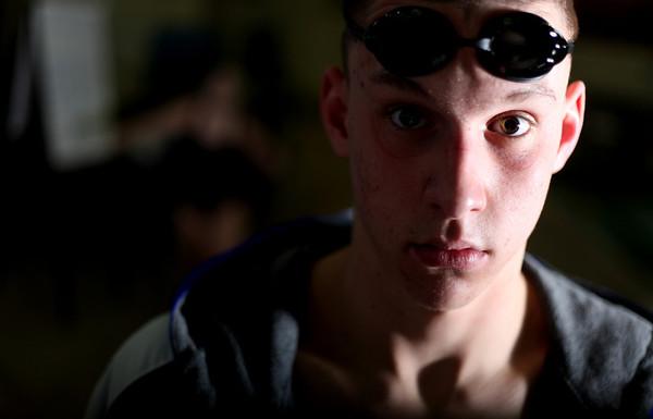 Sandy Bressner - sbressner@shawmedia.com<br /> St. Charles North's Kyle Gannon is the Kane County Chronicle Boys Swimmer of the Year.