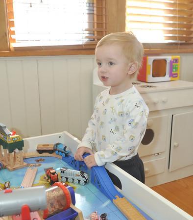 2-year old Nico Schwartz' heart