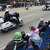 Jeff Krage — For the Kane County Chronicle<br /> Medinah motorcycles perform during Saturday's St. Patrick's Day parade in St. Charles.<br /> St. Charles 3/16/13