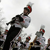 Jeff Krage — For the Kane County Chronicle<br /> The St. Charles East marching band performs during Saturday's St. Patrick's Day parade in St. Charles.<br /> St. Charles 3/16/13
