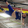 Jeff Krage – For the Kane County Chronicle<br /> Geneva's Dan Acton competes in the paul vault during Saturday's Upstate 8 Boys Indoor Conference Meet at Batavia High School.<br /> Batavia 3/16/13